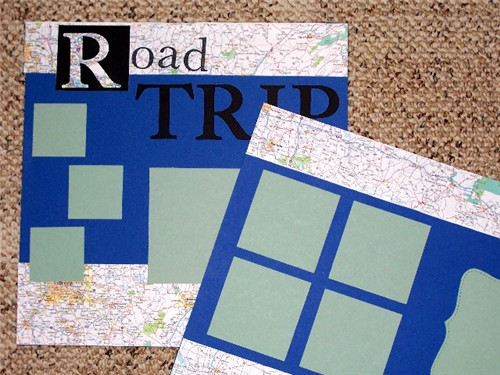 Road Trip - Sept ScrapClub