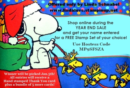 Snoopy-End of Year Sale