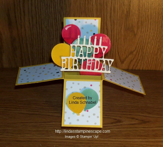 Birthday Card In A Box Lindas Stampin Escape