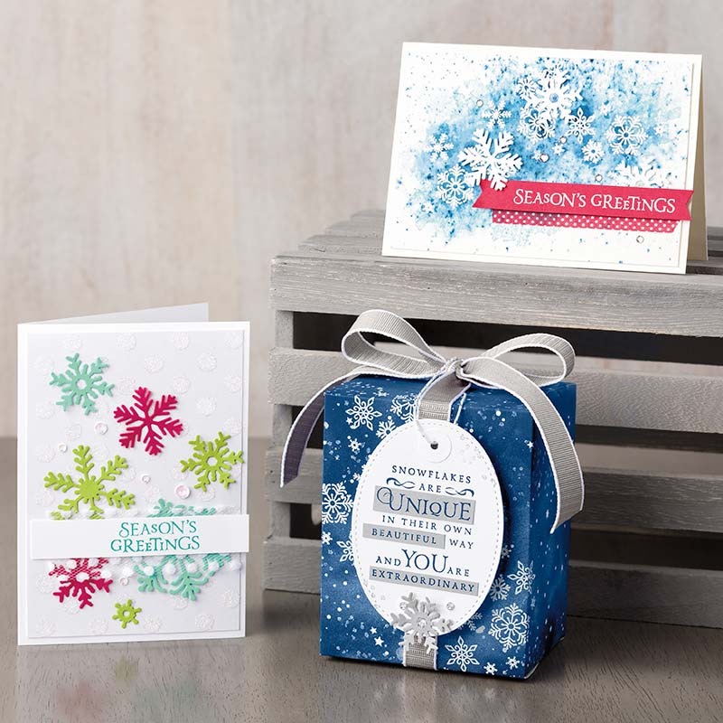 Create Your Own Blizzard Lindas Stampin Escape