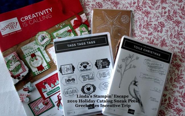Sneak Peak into the Holiday Catalog!!   Linda's Stampin' Escape