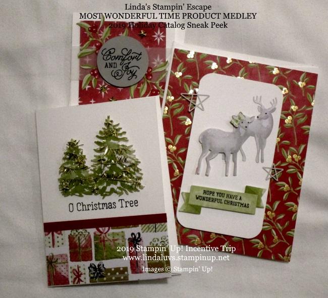 2019 Holiday Catalog | Linda's Stampin' Escape